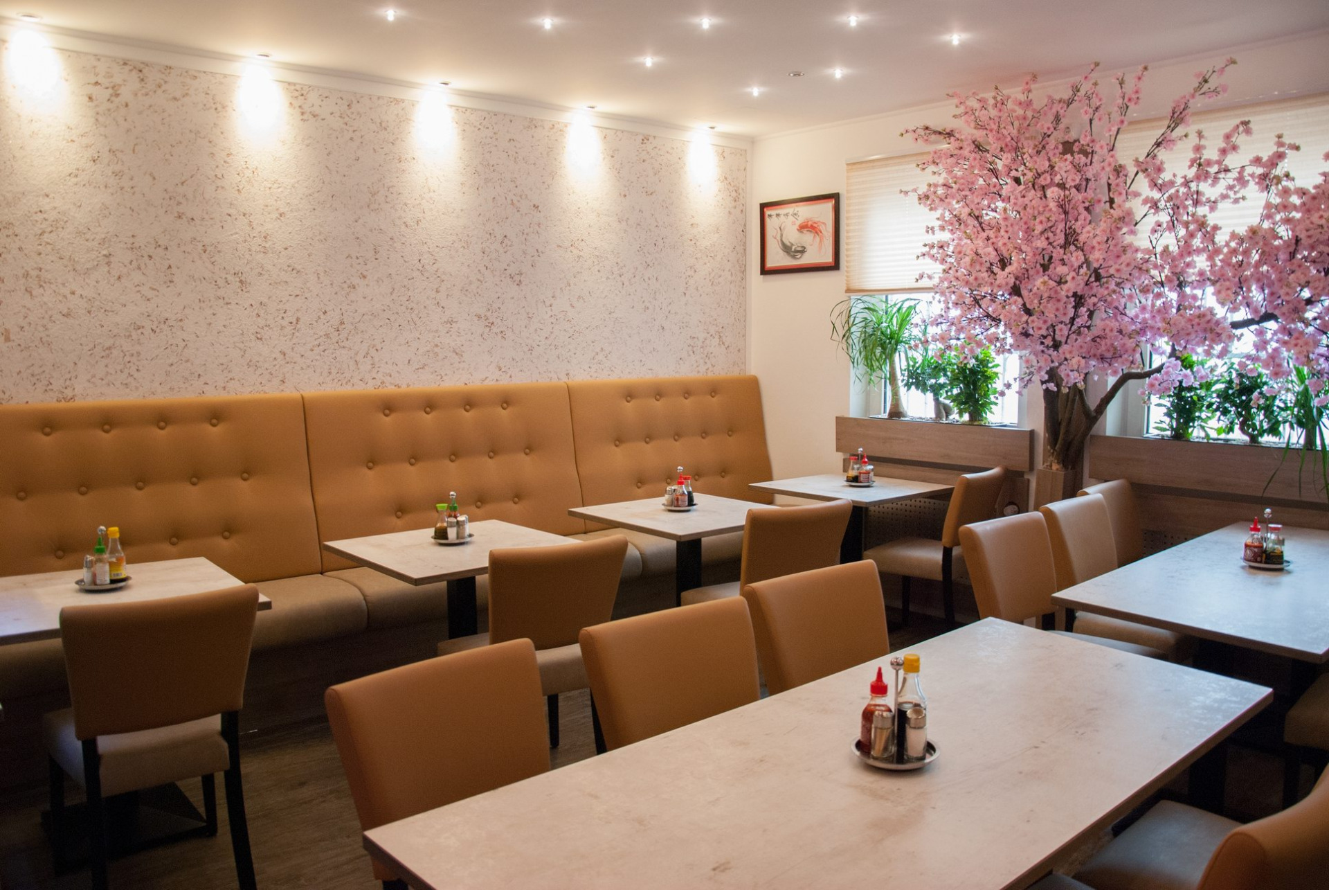 Objekteinrichtung Gastronomie Buffet Hanoi Quan